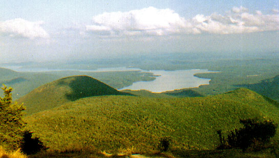 The Ashokan Reservoir from Wittenburg Mountain